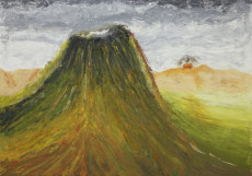 A Kind of Mountain-150x170-Oil on canvas