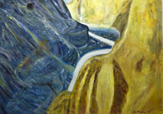 Coruh Valley (1)-130x180-Oil on Canvas